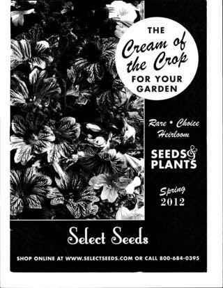 Seed catalog photo